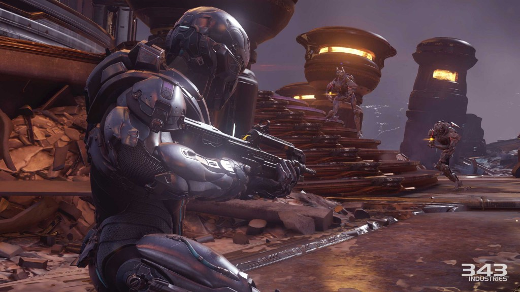 Halo 5 Guardians Campaign Review Screen 2