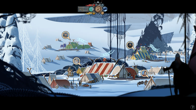 Banner Saga Training Tents