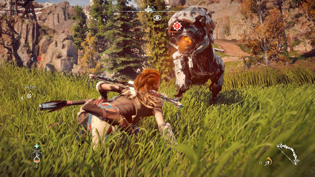 Horizon Zero Dawn Gameplay Watcher
