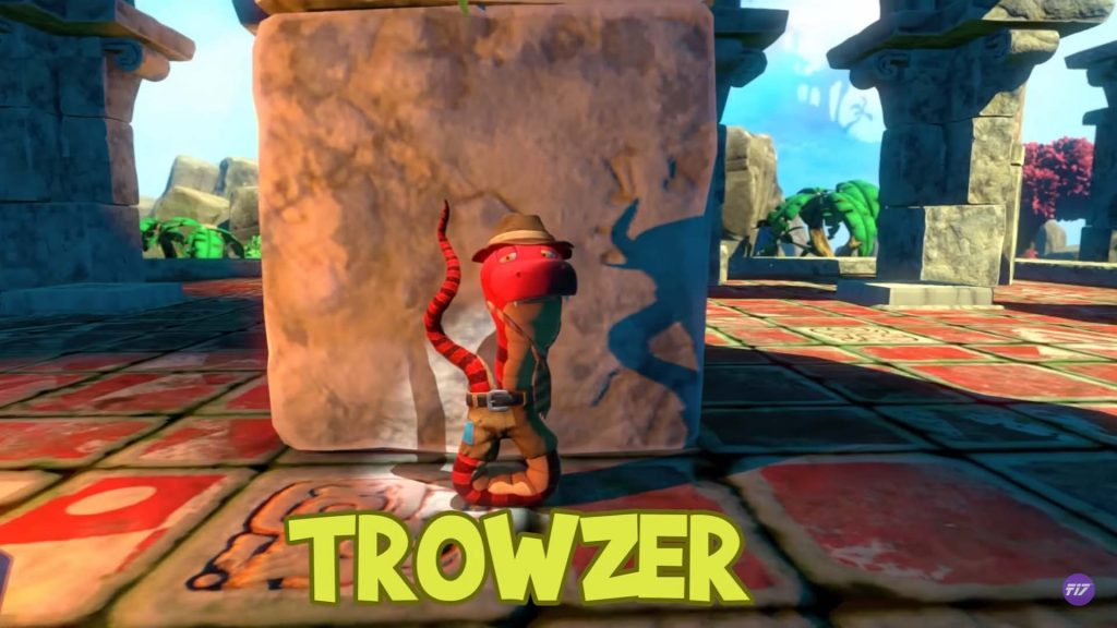Yooka Laylee Characters Trowser Snake