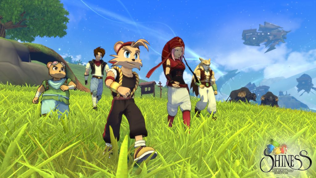 Shiness The Lightning Kingdom release date