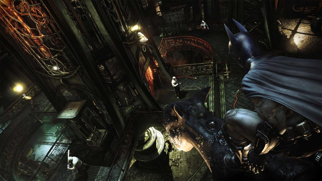 Batman arkham city review main gameplay