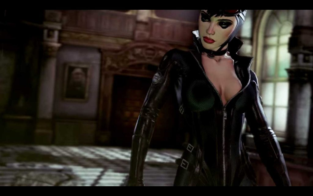 Batman arkham city review main catwoman