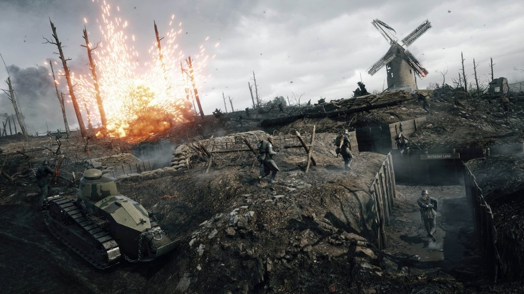 battlefield 1 review trench
