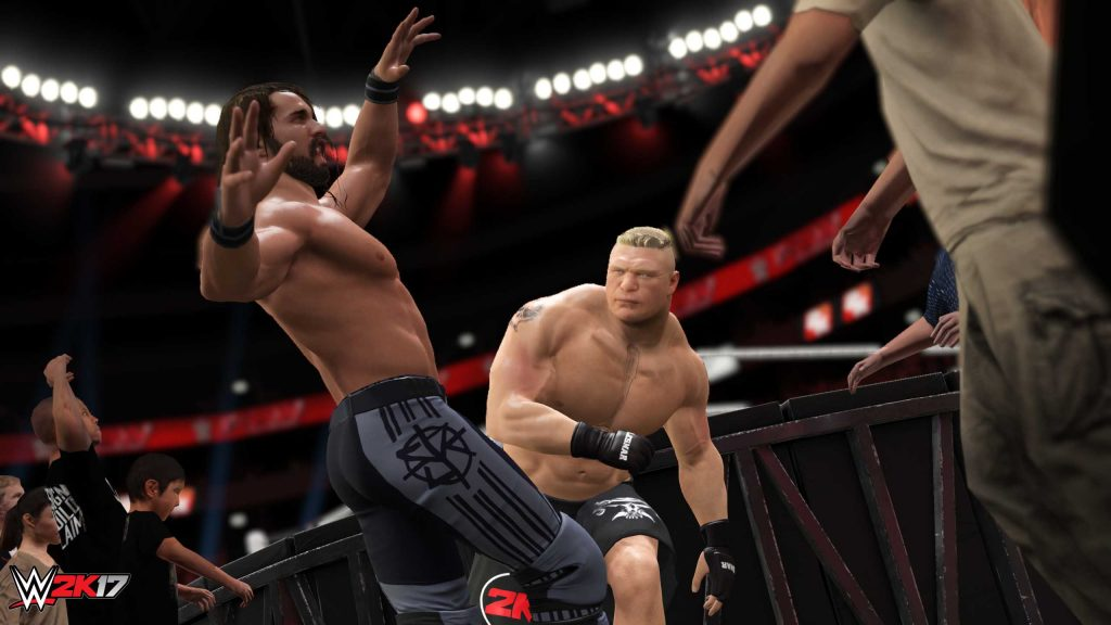 WWE 2K17 Review Main Fight