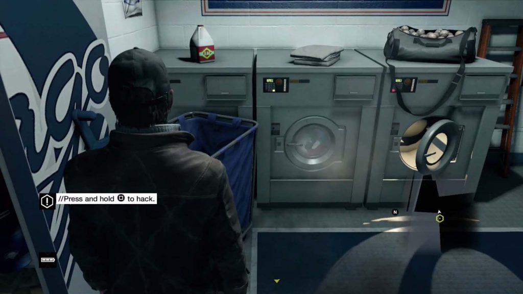 key features watchdogs 2 Original Washing
