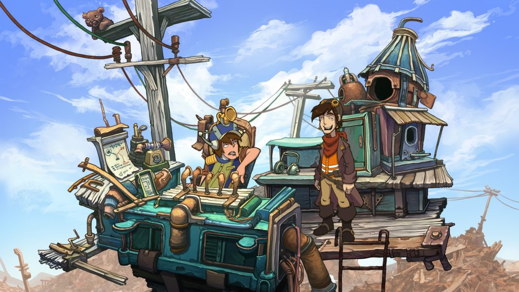 let's play deponia