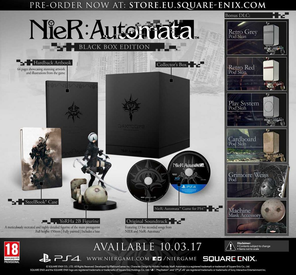 Is Nier automata Worth Playing Black Box