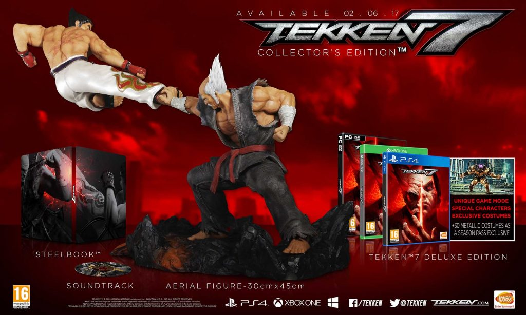 Tekken 7 In Europe Collectors