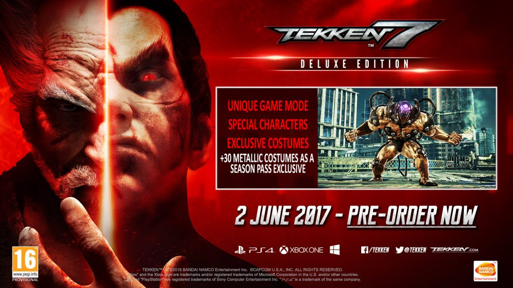 Tekken 7 In Europe Deluxe