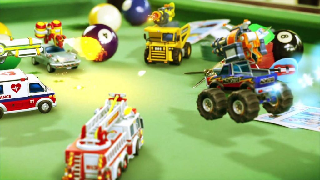 Micro Machines World series gameplay image 1