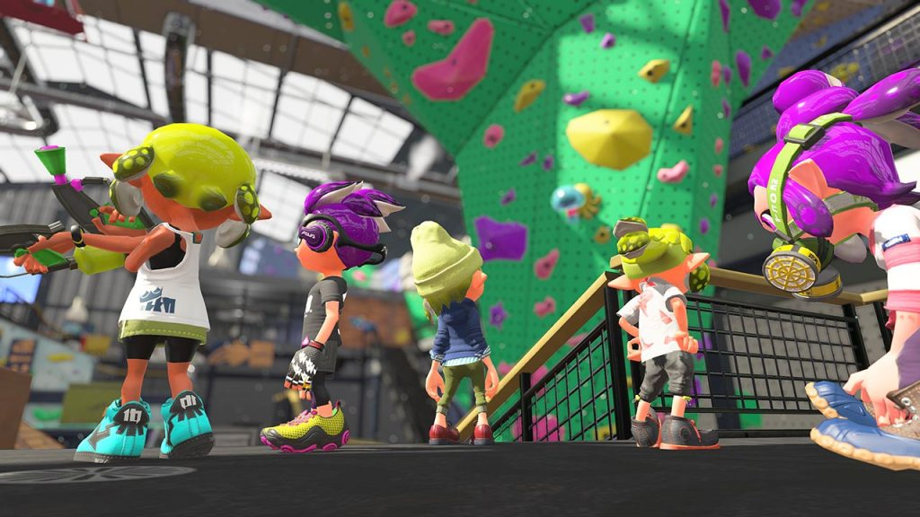 Nintendo Switch Features Splatoon 2