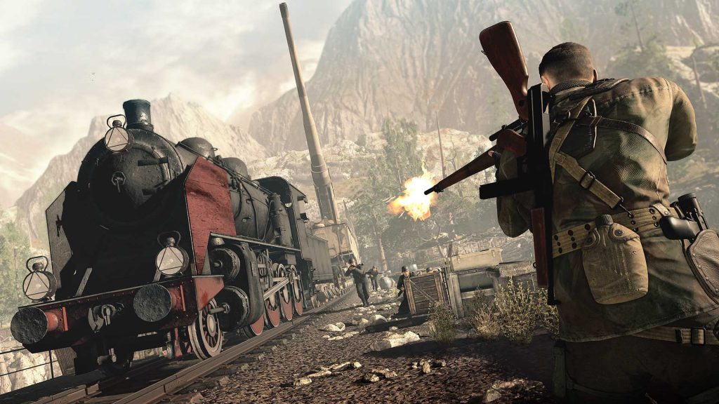 Sniper Elite 4 PS4 Pro Support image 1