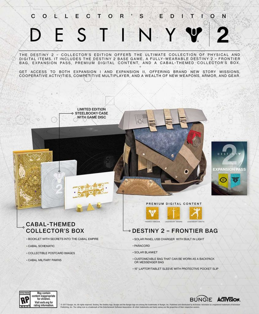 Destiny Officially Revealed Collector's Edition image