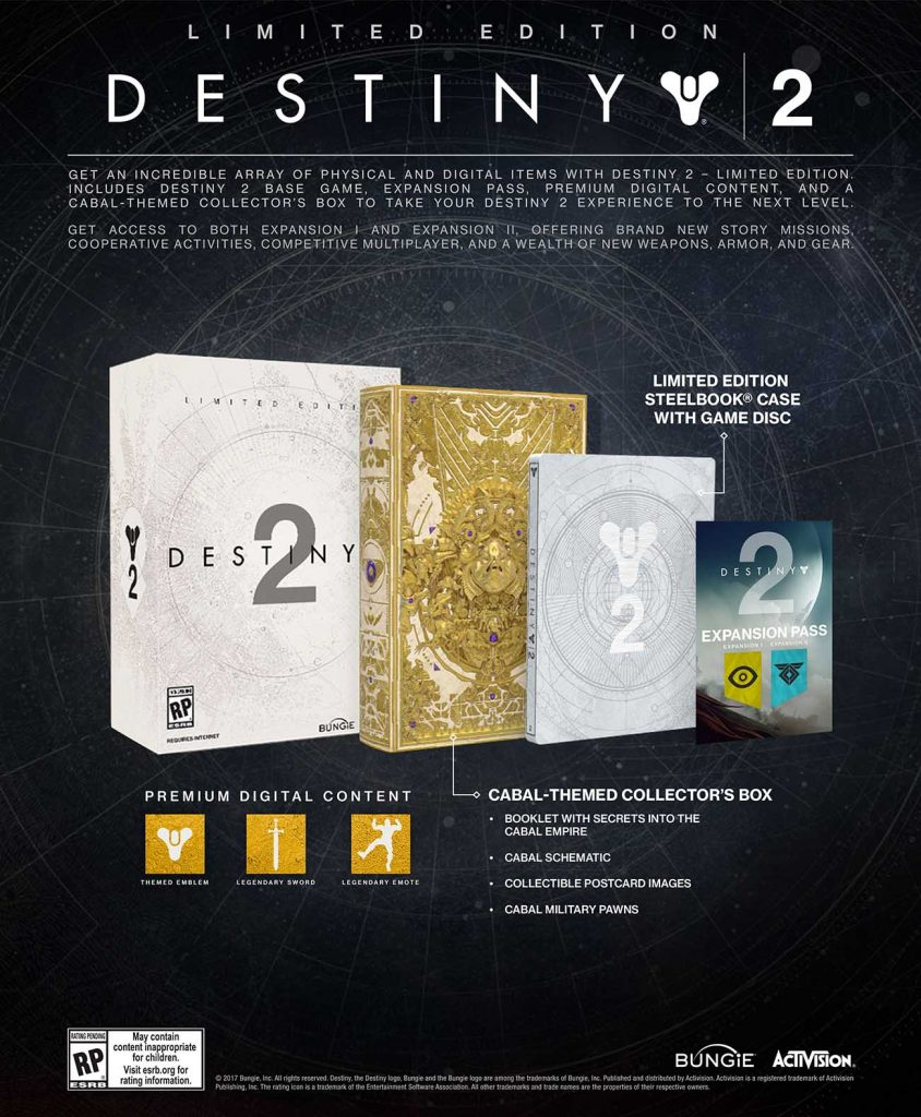 Destiny Officially Revealed Limited Edition image
