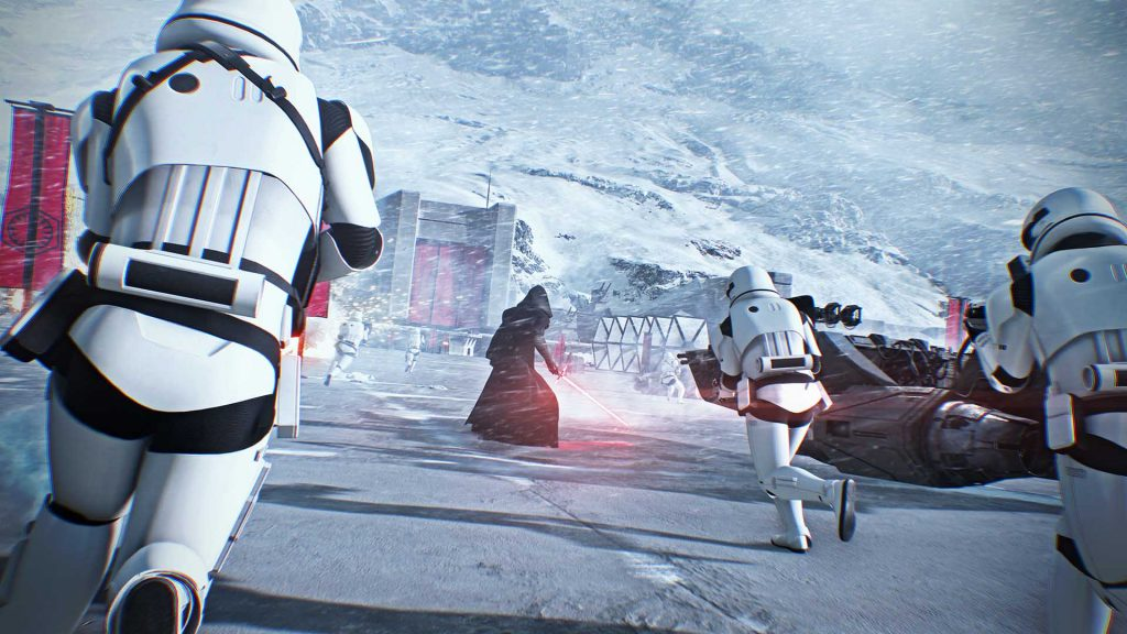 EA Play 2017 Round Up Star Wars battlefront 2 snow
