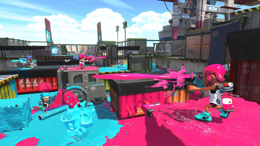 Splatoon 2 features level image