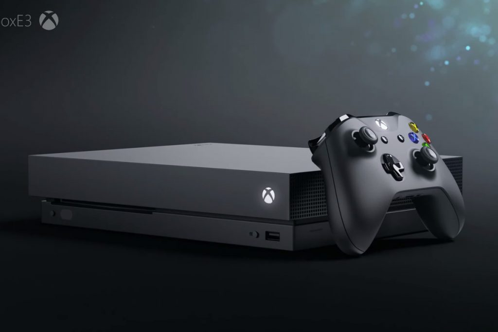Xbox e3 2017 Round Up Xbox One x Image