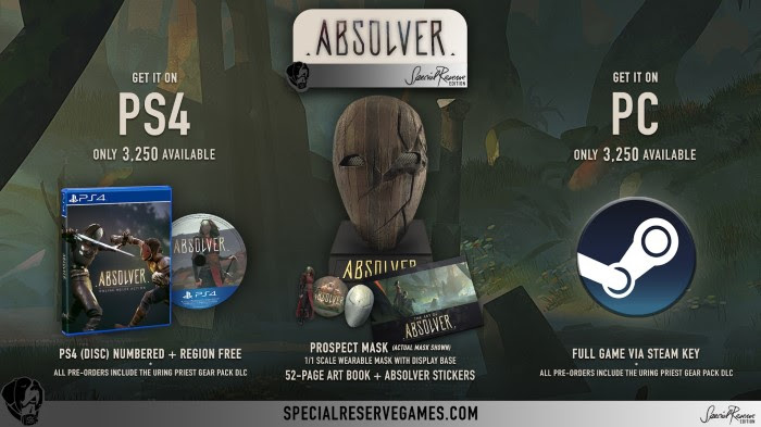 Absolver Weapons and powers image 1