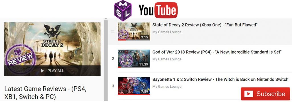 Video game review scores youtube image