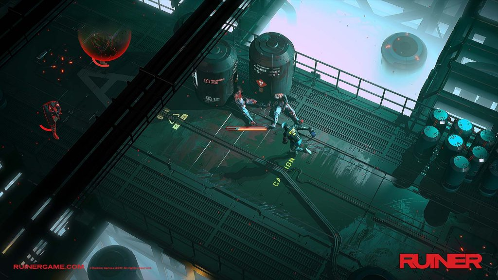 RUINER Releases on PS4 image 1