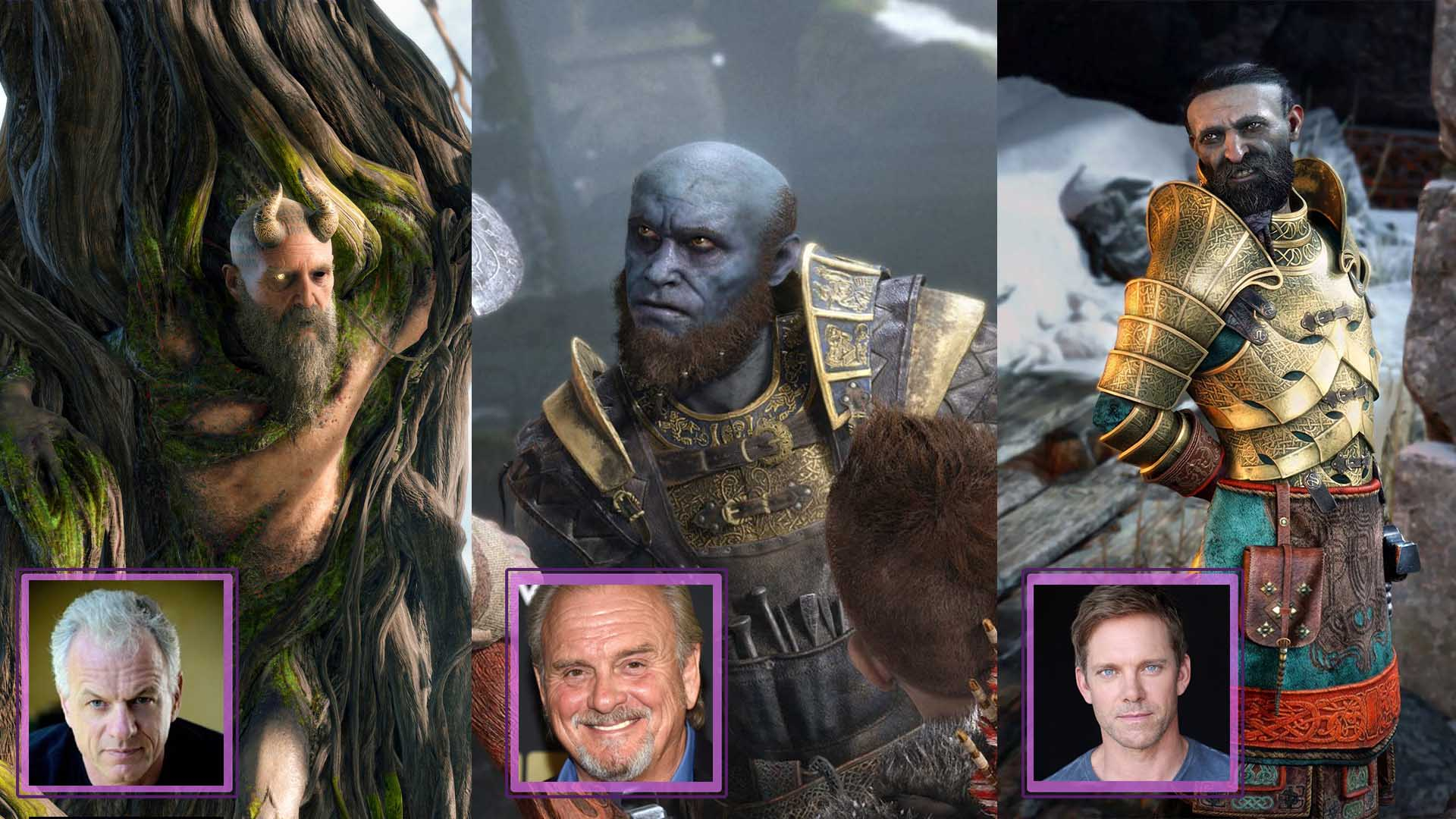 God Of War 4 Athena Voice Actor
