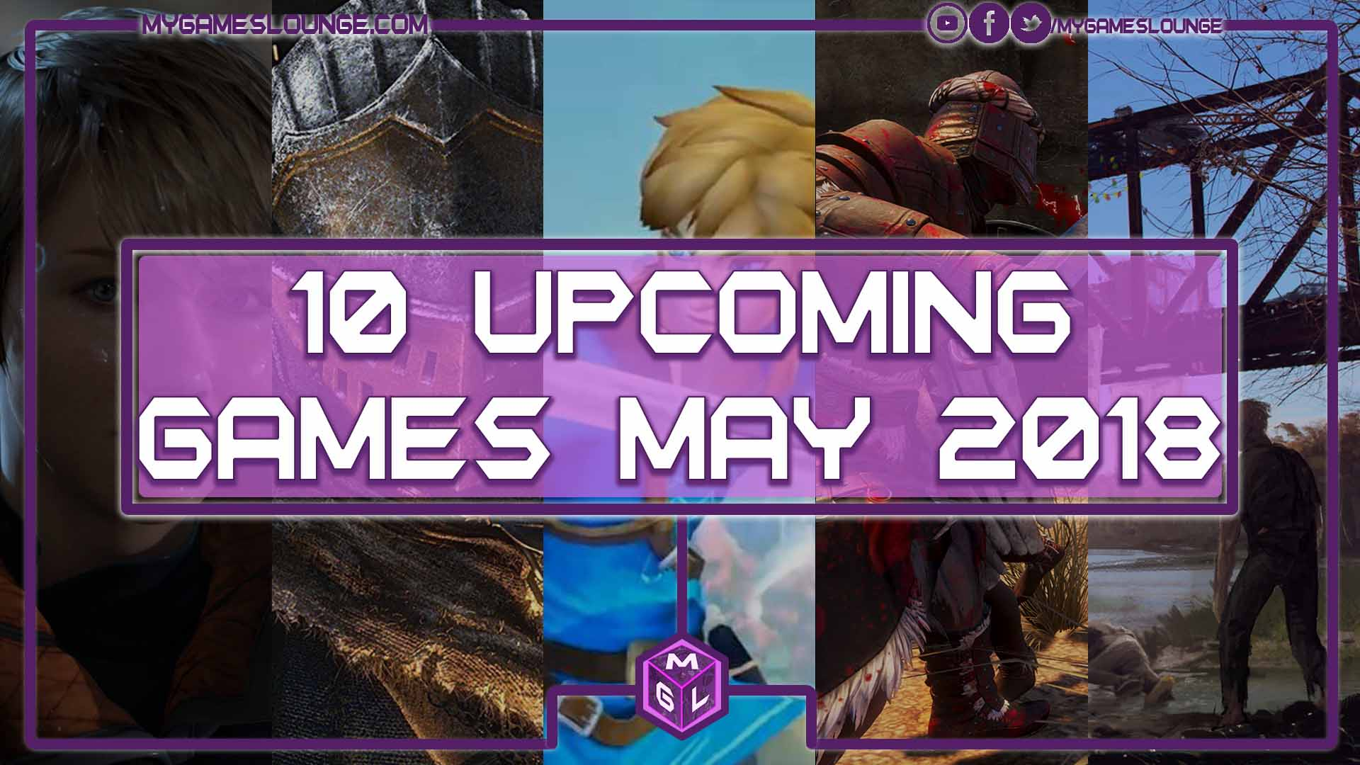 10 Best Upcoming Games May 2018 - (PS4, Xbox One, PC, Switch)