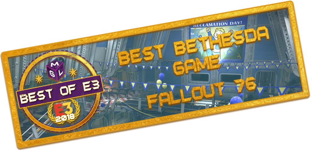 best e3 2018 games - Best Bethesda Game E3 Award