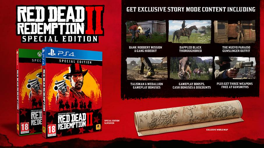 Red Dead Redemption 2 special Editions Special Ed