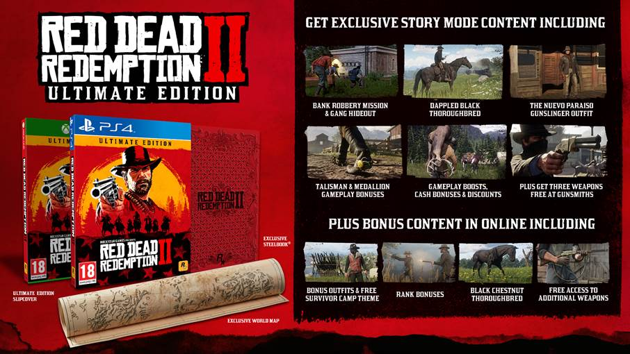 Red Dead Redemption 2 special Editions Ultimate Ed