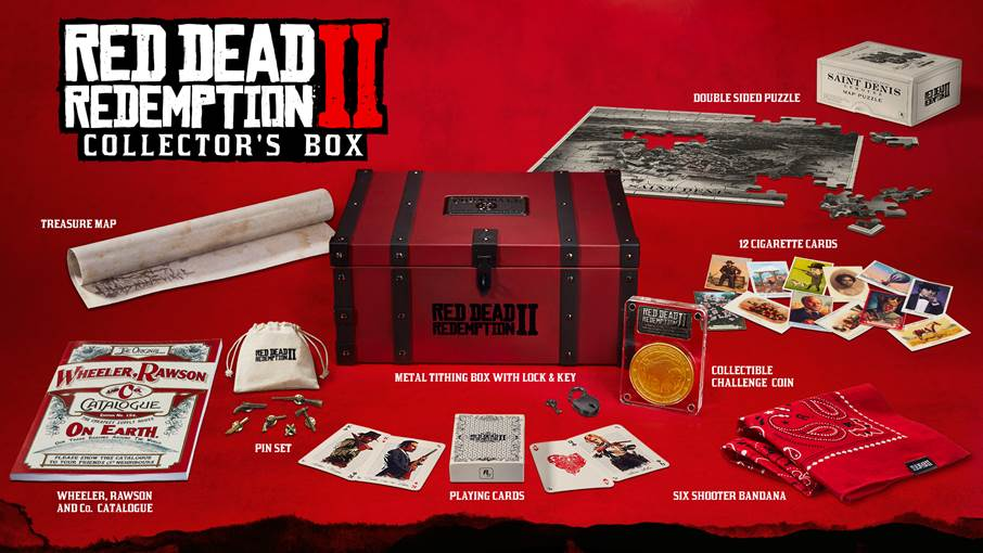 Red Dead Redemption 2 special Editions Collector's Box