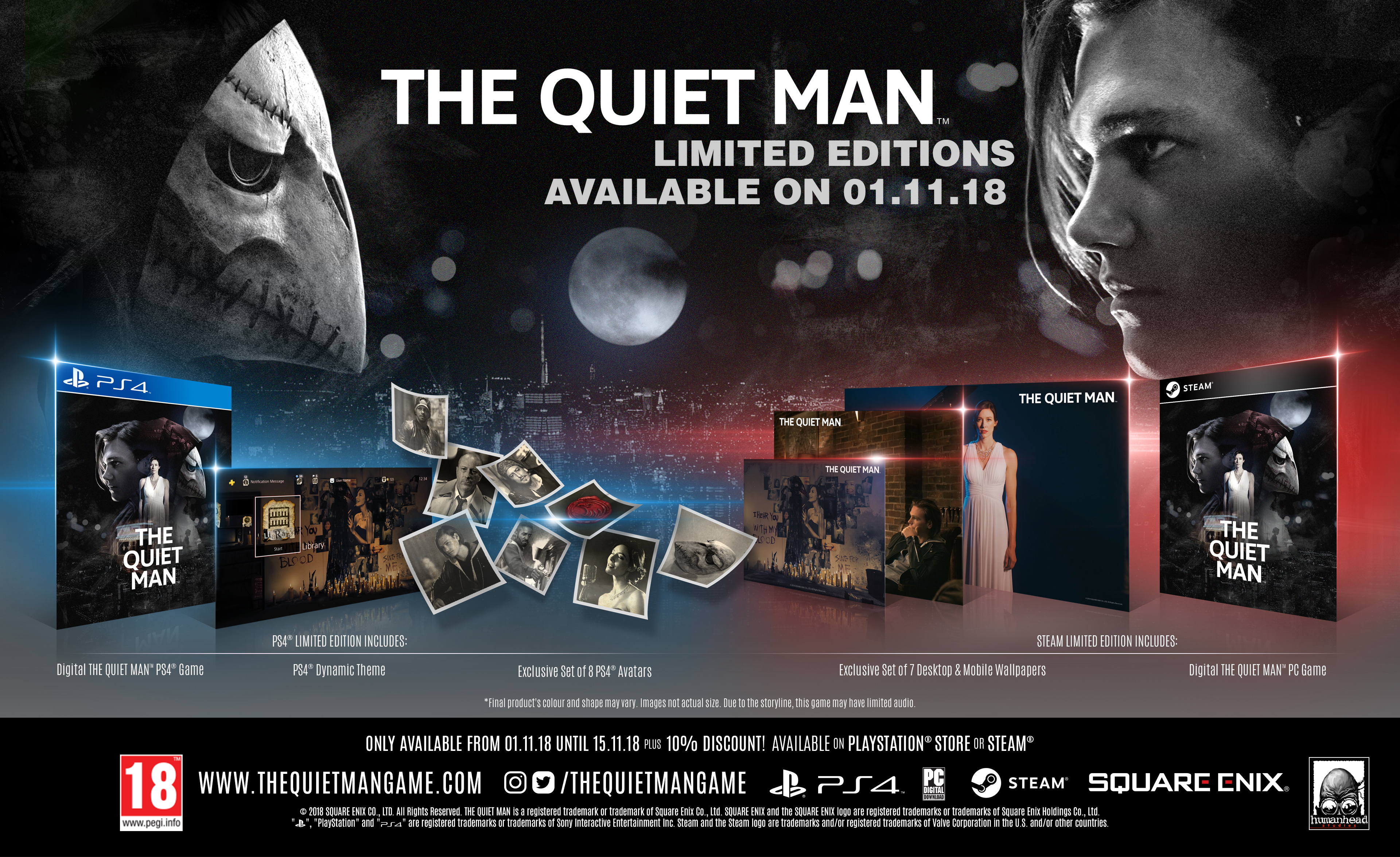 The Quiet Man Release date Limited Edition Image
