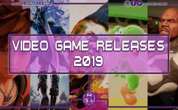 2019 video game releases