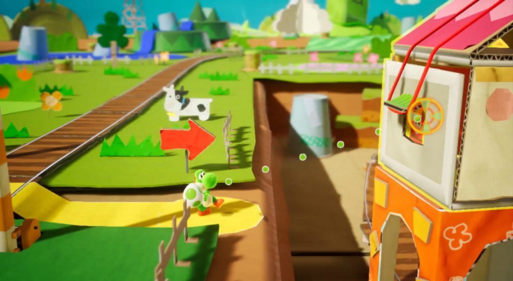 Yoshi's Crafted World release date image 2