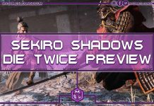 Sekiro Shadows Die Twice Features preview main image