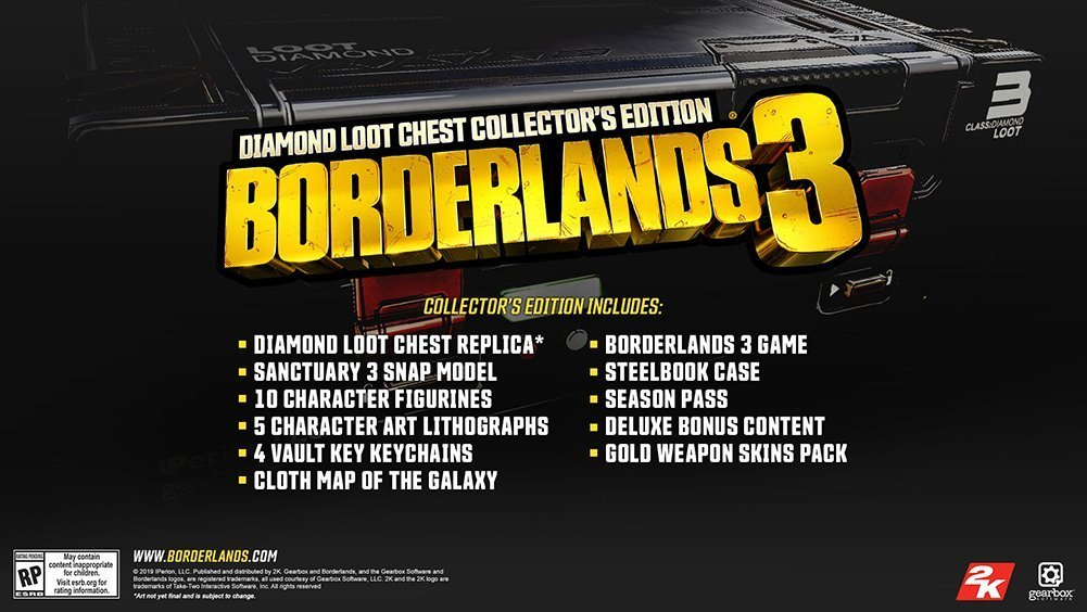 Borderlands 3 Release Date Collectors edition image
