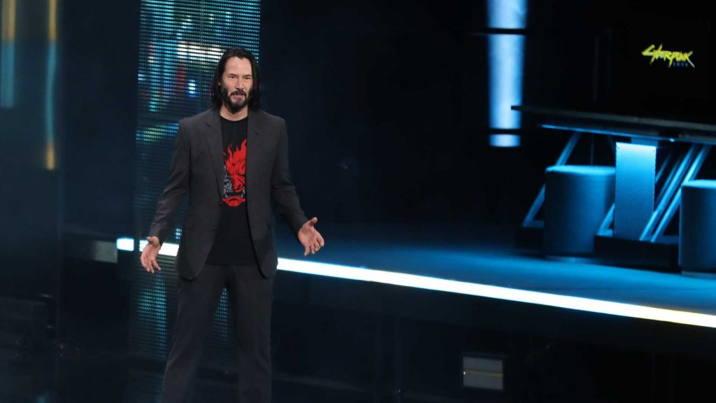 Was E3 2019 that bad image of Keanu Reeves at Xbox E3 Showcase